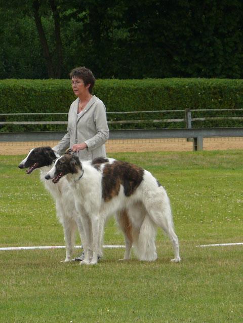 Iveta & Orpheus in der Paarklasse auf Platz 1