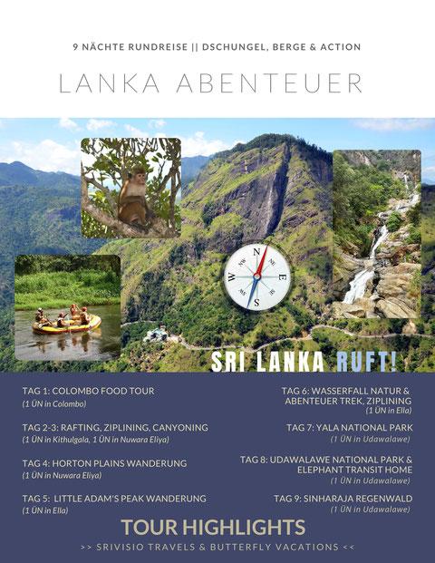 Sri Lanka Abenteuerreise
