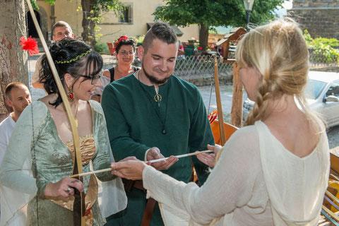 Bogenschiessen zur Hochzeit