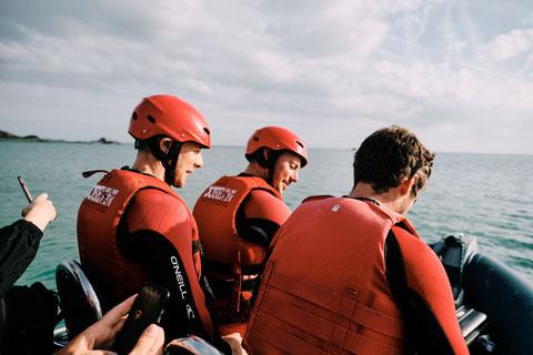 Activités sportives à Jersey, Guernesey