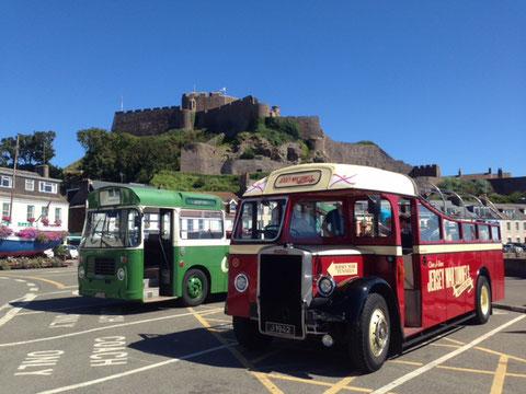 Tour de l'île en bus vintage à Jersey
