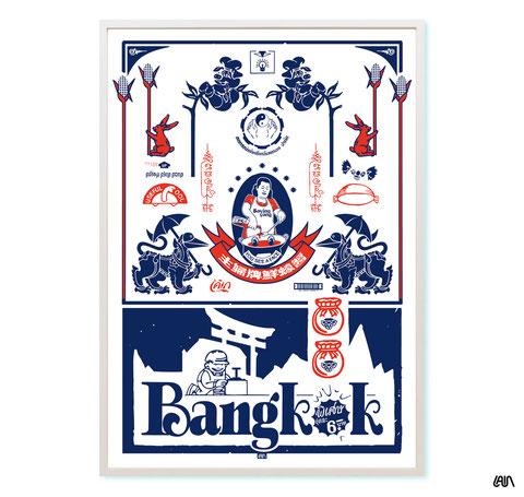 artist poster bangkok