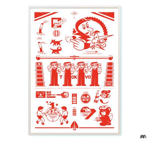 artist poster tokyo