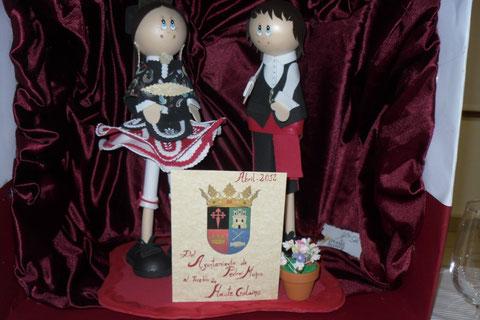 Danseurs de Jota Manchega, offerts par la Municipalité de Pedro Muñoz à notre association