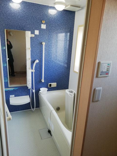 水回り5点セットハウスクリーニング、浴室の完了後の写真です。