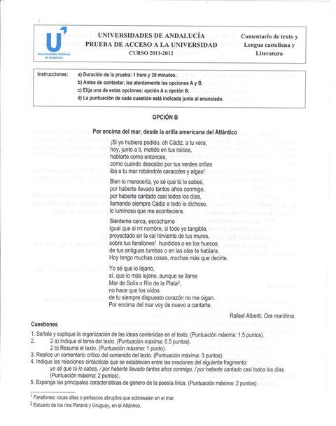La feria de los discretos selectividad lengua castellana for La feria de los discretos pdf