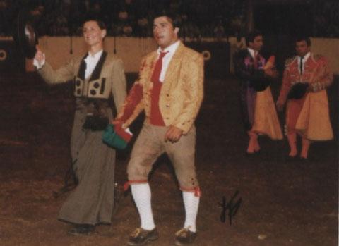 Ricardo Nunes na volta, da primeira pega do grupo na estreia a 12 de junho de 1999 em Arronches