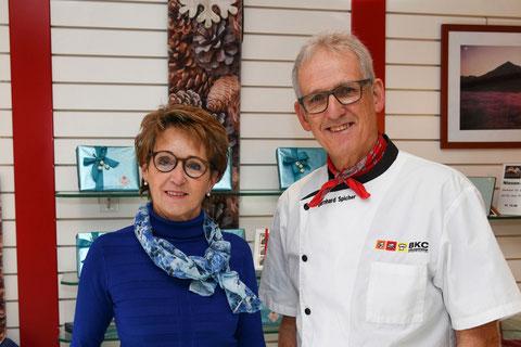 Jolanda und Bernhard Spicher, Bäckerei-Konditorei Spicher, Gunten am Thunersee