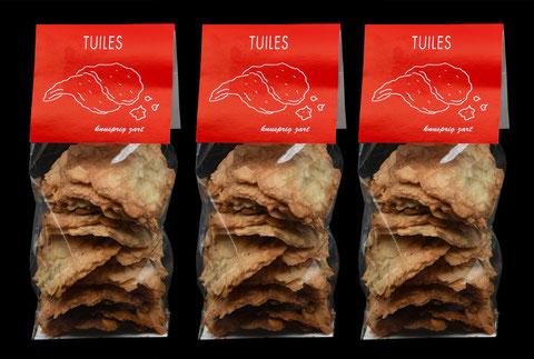 Tuiles von der Bäckerei-Konditorei Spicher in Gunten am Thunersee