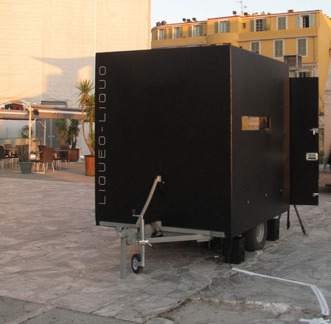 Laboratoire mobile, Parvis Théâtre National de Nice, 2011