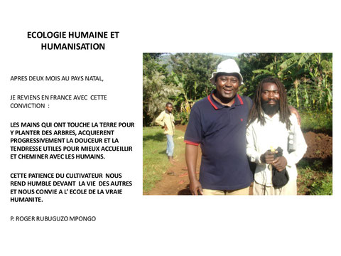 Ecologie humaine et humanisation