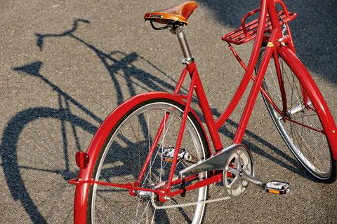Pelago Bicycles »Brooklyn«, in Rot