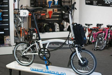 Brompton Electric ist ein Pedelec Faltrad