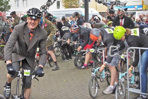 Alex war für VELO in Bremen am Start und so sehen Sieger aus