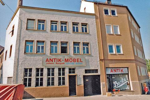 Die Köhnstraße 38 war eine der ›Ersten Adressen‹ Nürnbergs für antike Möbel