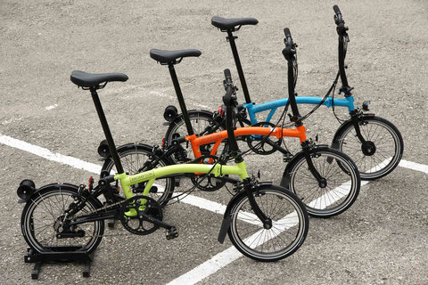Black Edition 2016: Brompton S6LD lime green, Custom-Aufbau mit SON Beleuchtung