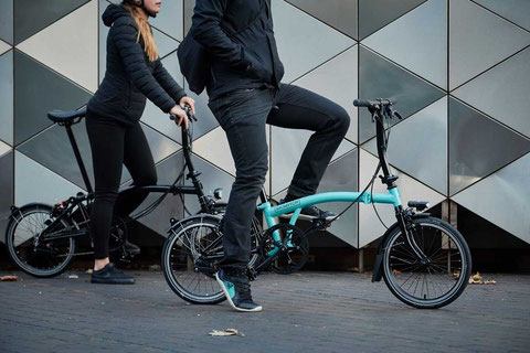 Brompton Faltrad Black Edition