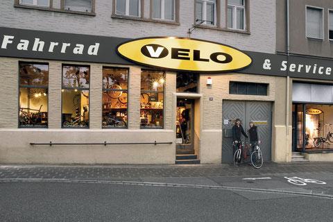 VELO Fassade 2007 – Außen hat sich nicht viel verändert.