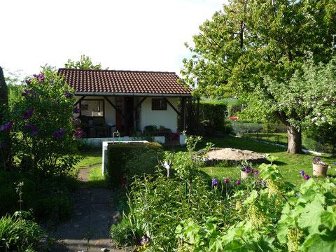 Gartenlaube im Kleingarten Brühl