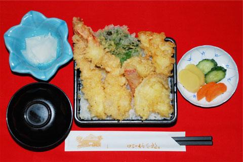 海丼(天丼)