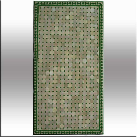 Mesas rectangulares for Mosaico marroqui