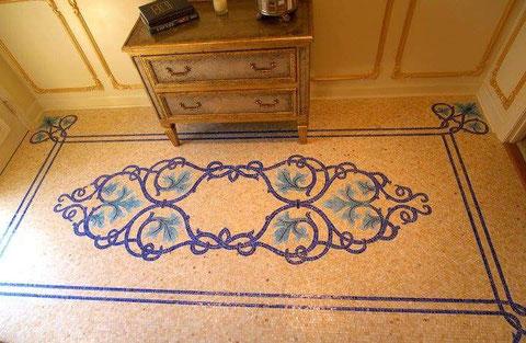 Realizada  en marmol y silestone ,puede hacerse en cualquier tipo de m,aterial y tamaño.