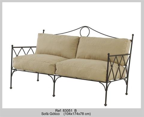 sofa gotico