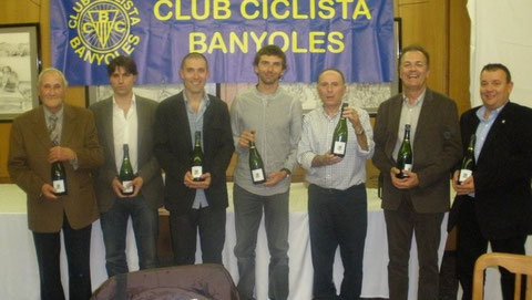 A. Palmada, J. Congost, L. Llop, X. Tondo, F. Moradell, J. Xargay i L. Costabella