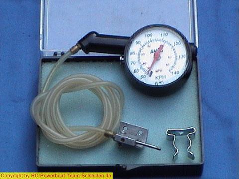Beide Versionen des Speedometer von Gundert.
