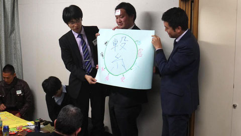 武蔵小杉を表現する漢字「繋」