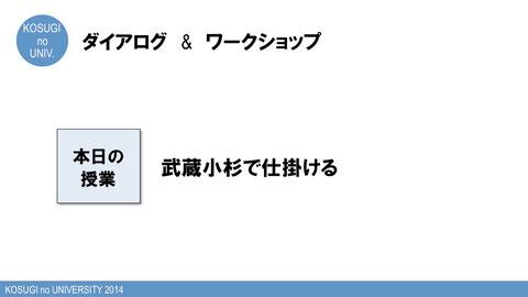 第15回「こすぎの大学~武蔵小杉で仕掛ける~」プログラム資料