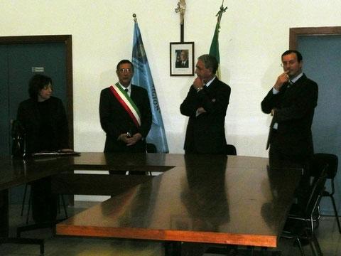 Visita del prefetto 24.11.2011