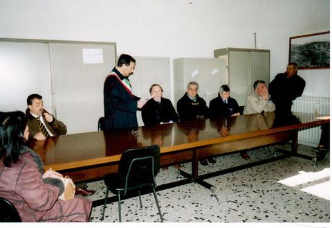 Discorso di benvenuto del Sindaco Giuseppe Sabusco