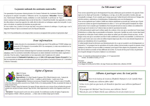 Journal du relais décembre 2011 verso