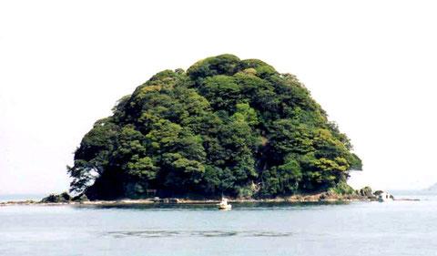 「蒼島」写真提供   若狭の語り部 岡尾正雄氏
