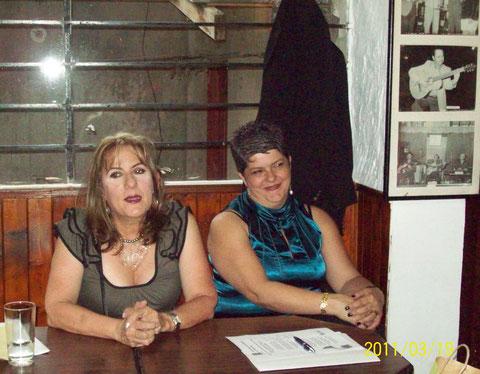Gloria Franco y Ruth García