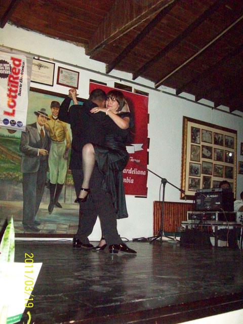 María Inés Fernández y Edinson Vanegas