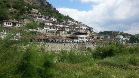 Die Altstadt von Berat