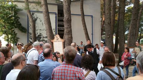 Die Winnetou - Fans treffen sich vor dem Museum