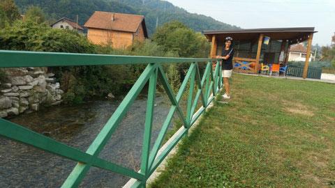 Auf dem Camping Sarajevo