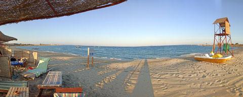 Die komplette Bucht von Abu Dabab