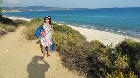 Strand in der Nähe von Limenaria