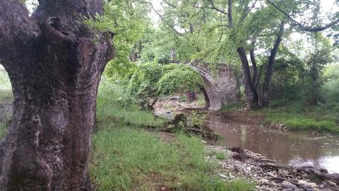 Die alte Brücke bei Lefki