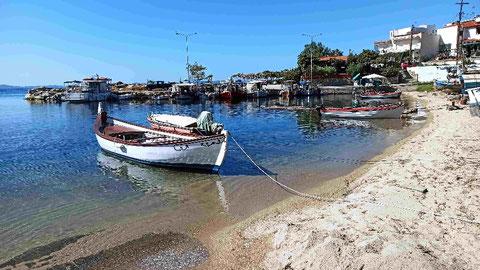 Am alten Hafen von Neos Marmaras