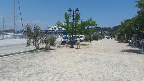 Thassos im Hafen
