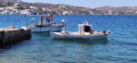 Kleiner Fischerhafen etwas abseits von Agia Marina
