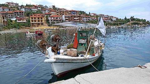 Im Hafen von Pyrgadikia (1)