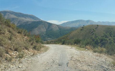 15km ursprüngliches Albanien