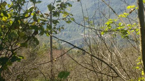 Letzter Blick in die Tara-Schlucht auf unsere Brücke