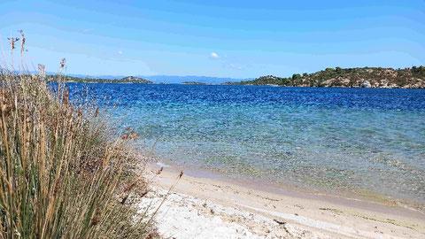 Auf der Seeseite der Livari Lagune